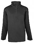 St. Hubert School - Unisex 1/2-Zip Pullover Performance Jacket - Elderado