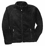 Aspen Academy - Girls Full Zip Microfleece Jacket - Elderado