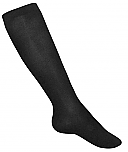 A+ Girls Knee High Socks - Opaque - 3 Pack