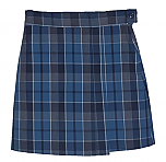 #UD59 Skort with 2 Pleats - Front & Back - Plaid #59