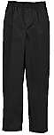 Unisex Pull-On Pants - All Around Elastic - Black