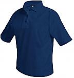 Saint Agnes High School - Mesh Knit Polo Shirt - Short Sleeve