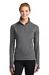 Schaeffer Academy - Sport-Wick - Womens Stretch 1/2-Zip Pullover