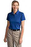 St. Jude of the Lake - Women's Performance Knit Polo Shirt - Snag-Proof