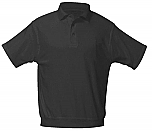 Cretin-Derham Hall - Unisex Interlock Knit Polo Shirt with Banded Bottom - Short Sleeve