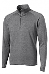 The Journey School - Unisex 1/2-Zip Pullover Performance Jacket - Elderado