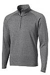The Journey School - Unisex 1/2-Zip Pullover Performance Jacket - Elderado