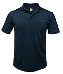 Schaeffer Academy - Unisex Performance Knit Polo Shirt - Moisture Wicking - 100% Polyester - Short Sleeve