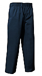 Unisex Pull-On Pants - All Around Elastic - Navy Blue