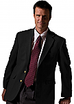 Men's Blazer - Polyester/Wool