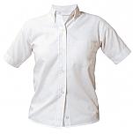 Community of Saints Regional Catholic School - Girls Oxford Dress Shirt - Short Sleeve