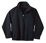 Frassati Catholic Academy - Unisex 1/2 Zip Microfleece Pullover Jacket - Elderado