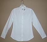 Cretin-Derham Hall - Women's Fitted Oxford Dress Shirt - Long Sleeve