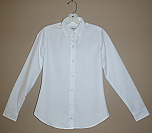 Chapel Hill Academy - Women's Fitted Oxford Dress Shirt - Long Sleeve