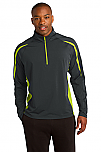 Epiphany - Men's Sport-Wick Stretch 1/2-Zip Colorblock Pullover