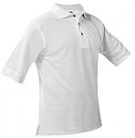 Holy Family Catholic High School - Unisex Mesh Pique Knit Polo Shirt - Short Sleeve