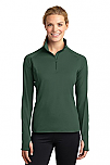 St. Luke the Evangelist - Sport-Wick - Womens Stretch 1/2-Zip Pullover