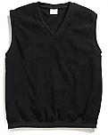 Unisex V-Neck Pullover Microfleece Vest - Elderado