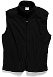 St. Anne Catholic School - Unisex Full Zip Microfleece Vest - Elderado