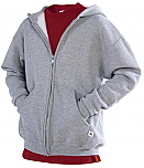 Russell Athletic Sweatshirt - Hooded Full Zip
