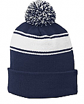 Epiphany Spirit Wear - Stripe Pom Pom Beanie