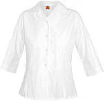 Nova Classical Academy - Girls Princess Blouse - 3/4 Sleeve - White