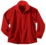Holy Family Academy - Unisex Full Zip Microfleece Jacket - Elderado