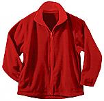 Holy Family Academy - Unisex Full Zip Microfleece Jacket - Elderado