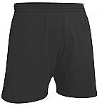 A+ Gym Shorts - Jersey Knit - Black
