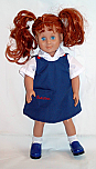 18 Inch Doll Jumper - Visitation School Jumper