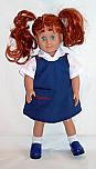 18 Inch Doll Jumper - Visitation School Jumper
