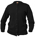 Holy Family Catholic High School - Girls Crewneck Cardigan Sweater