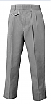 Girls Twill Pants - Pleated Front - A+ #7121/7221 - Grey