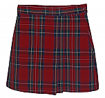 #UD68 Skort with 2 Pleats - Front & Back - Plaid #68
