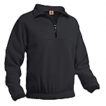 Unisex 1/2 Zip Fleece Pullover Jacket - A+