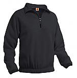 Unisex 1/2 Zip Fleece Pullover Jacket - A+