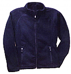 Our Lady of the Prairie - Girls Full Zip Microfleece Jacket - Elderado