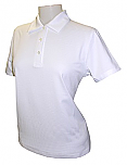 Spire Credit Union - Women's Textured Ottoman Polo Shirt - Short Sleeve