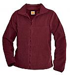 The International School of MN - Unisex Full Zip Fleece Jacket - A+ 6202