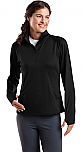 Cretin-Derham Hall Staff - Sport-Wick - Womens Stretch 1/2-Zip Pullover