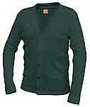 Holy Family Catholic High School - Unisex V-Neck Cardigan Sweater with Pockets