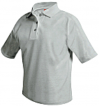 Stella Maris Academy - Unisex Mesh Knit Polo Shirt - Short Sleeve