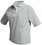 Stella Maris Academy - Unisex Mesh Knit Polo Shirt - Short Sleeve