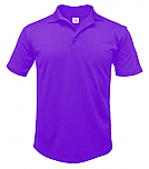 Lourdes High School - Unisex Performance Knit Polo Shirt - Moisture Wicking - 100% Polyester - Short Sleeve