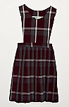 #8891 Jumper - Pinafore Top - Knife Pleats - 100% Polyester - Plaid #91