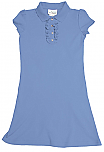 Chapel Hill Academy - Knit Dress with Ruffled Placket