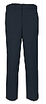 Boys Modern Fit Twill Pants - Flat Front - A+ #7893/7894 - Navy Blue