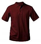 The International School of MN - Unisex Interlock Knit Polo Shirt - Short Sleeve