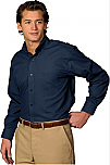 Spire Credit Union - Men's Lightweight Poplin Dress Shirt - Long Sleeve