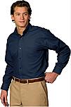 Spire Credit Union - Men's Lightweight Poplin Dress Shirt - Long Sleeve